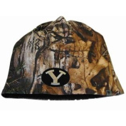 BYU Cougars TOW Camo Brown Trap 1 Reversible Knit Winter Beanie Hat Cap