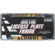 Idaho Vandals Alumni Metal Licence Plate Frame W/domed Insert - Idaho/alumni