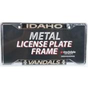 Idaho Vandals Metal Licence Plate Frame W/domed Insert - Idaho/vandals