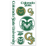 Colorado State Rams Temporary Tattoos