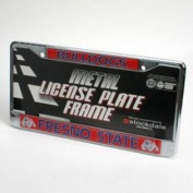 "Fresno State Bulldogs """"bulldogs"""" Metal Licence Plate Frame"