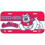 Fresno State Bulldogs Plastic Licence Plate