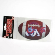 Fresno State Bulldogs Football Decal