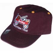 Arizona State Sun Devils Infant Top Of the World That's How I Roll Adj Hat Cap