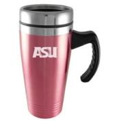 Arizona State Sun Devils Engraved 470ml Stainless Steel Travel Mug - Pink