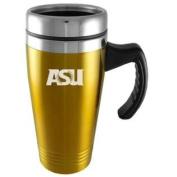 Arizona State Sun Devils Engraved 470ml Stainless Steel Travel Mug - Gold