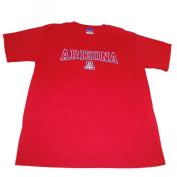 """Arizona Wildcats Champion Red """"Arizona"""" Short Sleeve Cotton T-Shirt"""