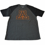 "Arizona Wildcats Colosseum Grey Hologram ""A"" Logo Short Sleeve T-Shirt"