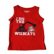 "Arizona Wildcats Colosseum Boys Red ""I Dig"" Tank Top T-Shirt"