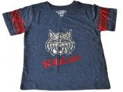 Arizona Wildcats Colosseum Girls Navy Jersey Style Cotton Blend T-Shirt