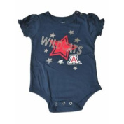 Arizona Wildcats Colosseum Infant Navy Stars Blouse One Piece Outfit