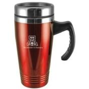 Arizona Wildcats Engraved 470ml Stainless Steel Travel Mug - Red