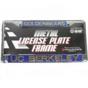 California Golden Bears Metal Inlaid Acrylic Licence Plate Frame