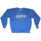 Colorado Buffaloes The Cotton Exchange Light Blue Faded Logo Sweatshirt