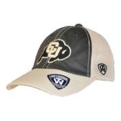 Colorado Buffaloes Top of the World Black Beige Offroad Adj Snapback Hat Cap