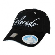 Colorado Buffaloes Top of the World Women Black Cloud 9 Adjustable Hat Cap