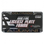 Colorado Buffaloes Metal Alumni Inlaid Acrylic Licence Plate Frame