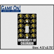 Colorado Buffaloes Game On Light Switch Cover