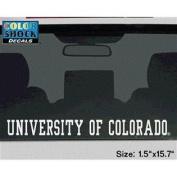 Colorado Buffaloes Decal Strip - University Of Colorado Buffaloes