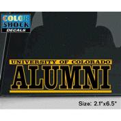 Colorado Buffaloes Decal - University Of Colorado Buffaloes Over Alumni
