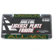 Oregon Ducks Metal Alumni Inlaid Acrylic Licence Plate Frame