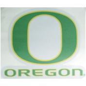 Oregon Ducks Perforated Vinyl Window Decal - O Over Oregon