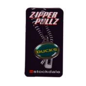 Oregon Ducks Logo Zipper Tag