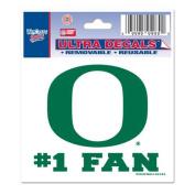 Oregon Ducks Decal 7.6cm X 10cm - #1 Fan