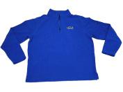 UCLA Bruins Gear for Sports Blue Knit Fleece Quarter-Zip Pullover Sweatshirt