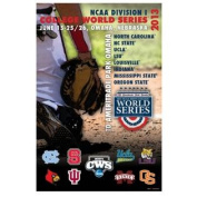 2013 Official College World Series CWS Omaha Team Logos Print Poster 24x36