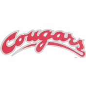Washington State Cougars Decal - Arched Script Cougars
