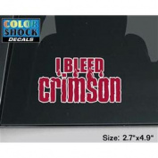 Washington State Cougars Decal - I Bleed Crimson