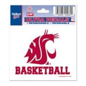 Washington State Cougars Decal 7.6cm X 10cm - Basketball