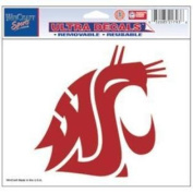Washington State Cougars Official NCAA 10cm x 15cm Car Window Cling Decal by Wincraft