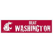 Washington State Cougars Bumper Sticker - Beat Washington