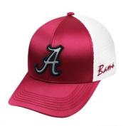 Alabama Crimson Tide TOW Women Crimson White Satina Mesh Adjustable Hat Cap