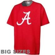 Alabama Crimson Tide Bold Short Sleeve Tshirt Big and Tall Size 2XT