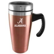 Alabama Crimson Tide Engraved 470ml Stainless Steel Travel Mug - Pink