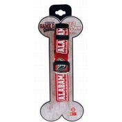 Alabama Crimson Tide Game Day Outfitters Red with Team Logo Pet Collar