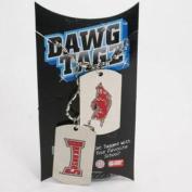 Arkansas Razorbacks Dawg Tagz - Military Style Dog Tags