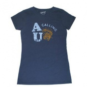 "Auburn Tigers Gear Co.ed Women Navy ""AU Calling"" Short Sleeve T-Shirt"