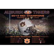 Auburn Tigers Prographs 2013 SEC Champions Poster Print 24 x 36