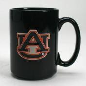 Auburn Tigers 440ml Black Ceramic Mug