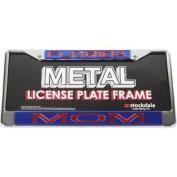 "Florida Gators Metal ""mom"" Inlaid Acrylic Licence Plate Frame"
