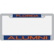Florida Gators Alumni Metal Inlaid Acrylic Licence Plate Frame