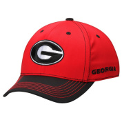 Georgia Bulldogs TOW Red Krossover Two-Tone Memory FLEXFIT Hat Cap