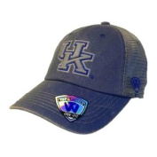 Kentucky Wildcats TOW Blue Grey Mortar Mesh Backed Flexfit Slouch Hat Cap