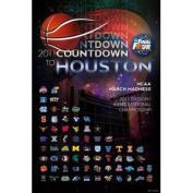 2011 NCAA Final Four Countdown to Houston Print Poster