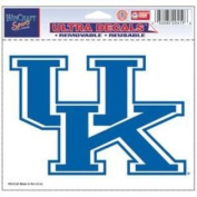 Kentucky Wildcats Official NCAA 10cm x 15cm Car Window Cling Decal by Wincraft