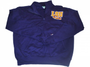 LSU Tigers Champion Purple 1/4 Zip Two Pockets Pullover Sweatshirt